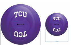 TCU Horned Frogs Tailgate Topperz