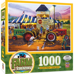 Farm Country - For Top Honors 1000 Piece Jigsaw Puzzle