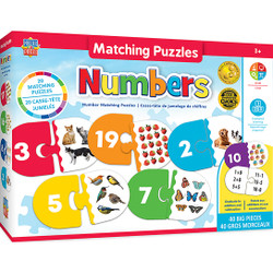 Educational Matching - Numbers Jigsaw Puzzles