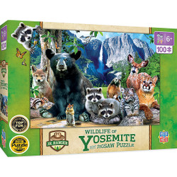 National Parks - Yosemite National Parks Right Fit 100 Piece Kids Puzzle