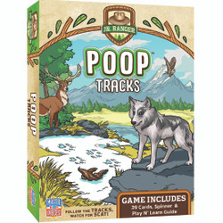 National Park Jr Ranger Games - Poop Tracks