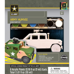 U.S. Army Humvee Licensed Wood Paint Kit