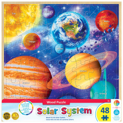 Solar System - 48 Wood Piece Puzzle