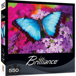Brilliance Iridescence - Butterfly 550 Piece Jigsaw Puzzle
