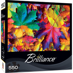 Brilliance Fall Frenzy - Fall Leaves 550 Piece Jigsaw Puzzle