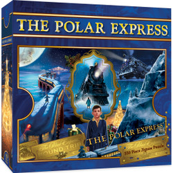 The Polar Express Train 550 Piece Jigsaw Puzzle
