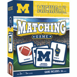 Michigan NCAA Matching Game