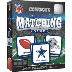 Dallas Cowboys NFL Matching Game