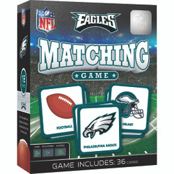 Philadelphia Eagles NFL Matching Game