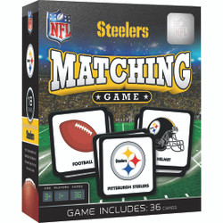 Pittsburgh Steelers NFL Matching Game