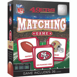 San Francisco 49ers NFL Matching Game