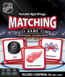 Detroit Red Wings NHL Matching Game