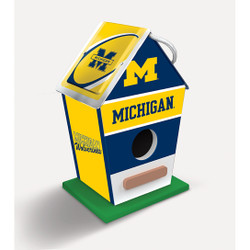 Michigan NCAA Birdhouse