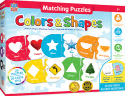 Educational Matching - Colors & Shapes Jigsaw Puzzles