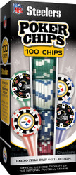 Pittsburgh Steelers Poker Chips 100pc