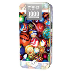 World's Smallest All My Marbles- 1000 Piece Tin Box Jigsaw Puzzle