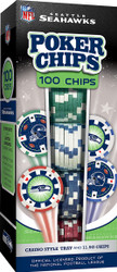 Seattle Seahawks Poker Chips 100pc