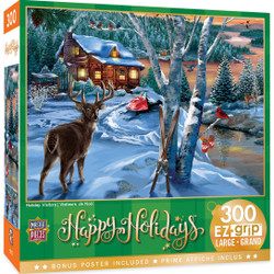 Holiday - Holiday Visitors 300 Piece EZ Grip Puzzle