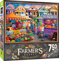 Farmer's Market - Weekend Market - 750 Piece Jigsaw Puzzle