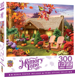 Memory Lane - Autumn Warmth - Large 300 Piece EZGrip Jigsaw Puzzle by Alan Giana