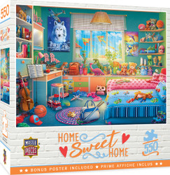 Home Sweet Home - Annie's Hideaway - 550 Piece Jigsaw Puzzle