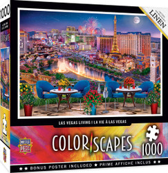 Colorscapes - Las Vegas Living - 1000 Piece Linen Jigsaw Puzzle