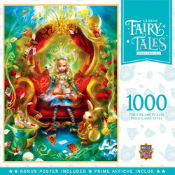 Classic Fairytales - Tea Party Time 1000 Piece Jigsaw Puzzle