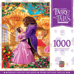 Classic Fairytales - Beauty and the Beast 1000 Piece Jigsaw Puzzle