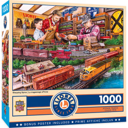 Lionel Trains - Shopping Spree - 1000 Piece Jigsaw Puzzle