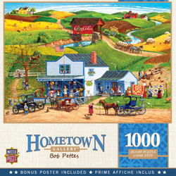 Hometown Gallery - McGiveny's Country Store - 1000 Piece Jigsaw Puzzle