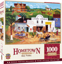 Hometown Gallery - Changing Times - 1000 Piece Jigsaw Puzzle