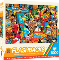 Flashbacks - Beach Time Flea Market - 1000 Piece Jigsaw Puzzle