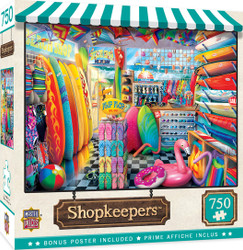 Shopkeepers - Beach Side Gear - 750 Piece Jigsaw Puzzle