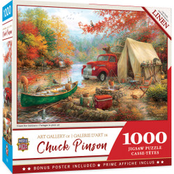 Chuck Pinson Gallery - Share the Outdoors - 1000 Piece Jigsaw Puzzle