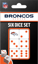 NFL Denver Broncos Dice Pack
