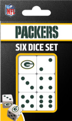 NFL Green Bay Packers Dice Pack