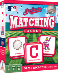 MLB Cleveland Indians Matching Game