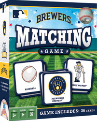 MLB Milwaukee Brewers Matching Game