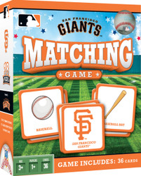 MLB San Francisco Giants Matching Game