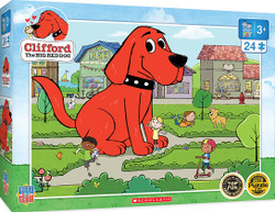Clifford Right Fit - Town Square - 24 Piece Jigsaw Puzzle