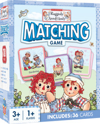 Raggedy Ann & Andy Matching Card Game