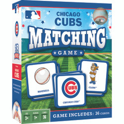 MLB Chicago Cubs Matching Game