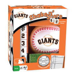 San Francisco Giants Shake n Score Travel Dice Game