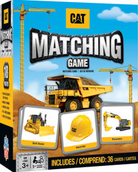 Caterpillar Matching Card Game Travel Size