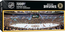 Boston Bruins 1000 Piece Stadium Panoramic Puzzle
