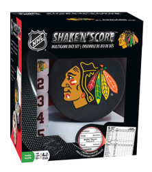 Chicago Blackhawks Shake n Score Travel Dice Game