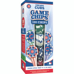 Chicago Cubs 100 Piece Game Chips