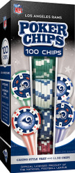 Los Angeles Rams 100 Piece Game Chips