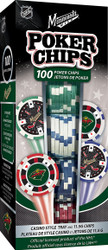 Minnesota Wild Poker Chips 100pc