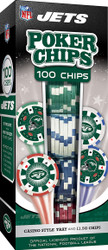 New York Jets 100 Piece Game Chips